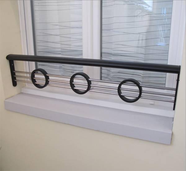 barre d 39 appui aluminium pour fen tre vente pose. Black Bedroom Furniture Sets. Home Design Ideas